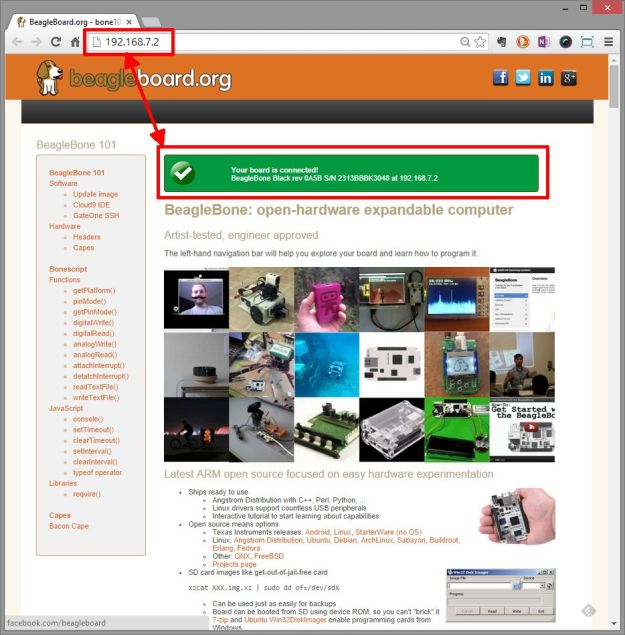 BBB web server