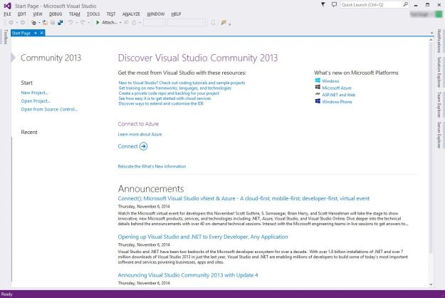 Visual Studio Community Edition