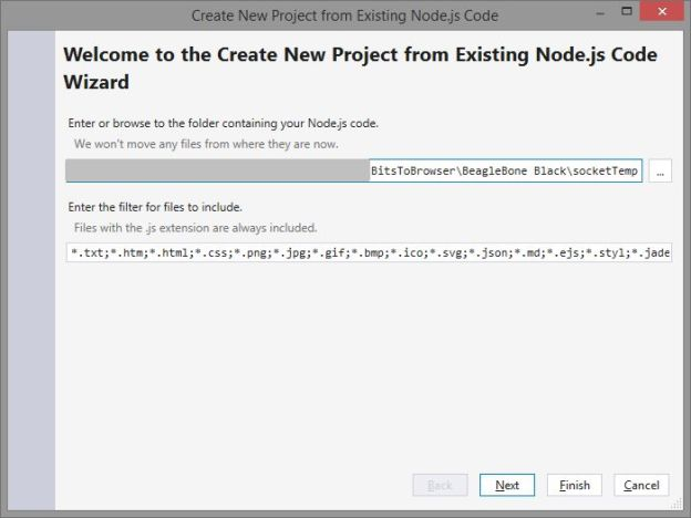 Import Files into Visual Studio 2013
